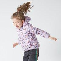 【2件1.5折价:38.9,25日0点可叠券】moomoo童装女童棉服冬季中大童洋气科技绒外套