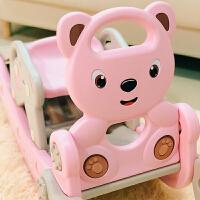 婴儿两用玩具木马儿童滑梯摇摇马二合一生日礼物一周岁宝宝摇椅