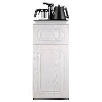 双层双开门立式自动上水饮水机仿木纹新款家用茶吧机