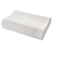 新款泰国天然乳胶枕芯全棉面料乳胶护颈按摩枕头