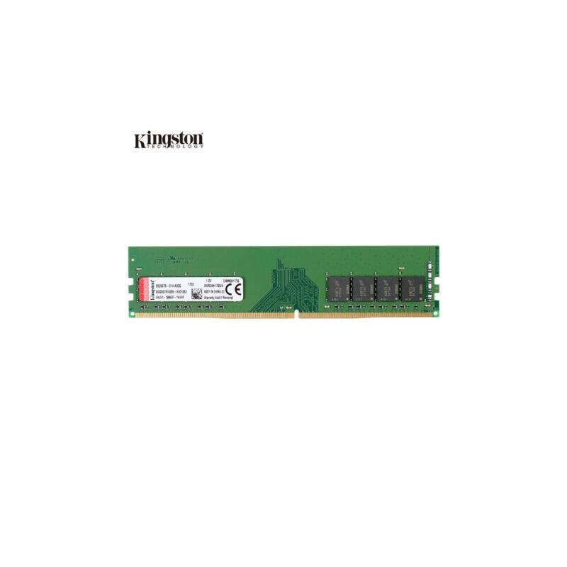 金士顿(Kingston)DDR4 2400 4G 台式机内存条 电压1.2V 性能出色 品质可靠