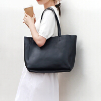 包包女2019新款真皮包大包时尚简约软皮大容量单肩手提包