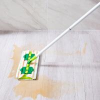 360度旋转平板拖把懒人免手洗毛巾拖布 家用夹固式木地板瓷砖地拖