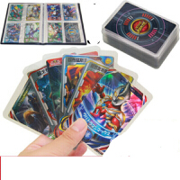 铠甲勇士VS奥特曼对战卡片100张不重复闪卡奥特曼玩具卡牌 z现货闪发