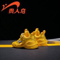 【品牌�惠:79元】�F人�B童鞋男童�\�有�二棉2020秋冬季新款�底防水休�e鞋�和�鞋潮