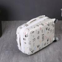 登机箱20寸行李箱女韩版密码箱男22旅行箱万向轮小清新拉杆箱24寸