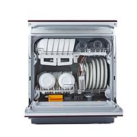 Panasonic/松下 NP-TR1TTCN魔影红 消毒烘干全自动家用台式洗碗机