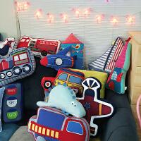 韩国可爱创意布艺沙发汽车靠垫靠垫汽车抱枕卡通靠垫居家沙发靠枕