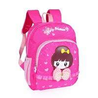 幼儿园书包女生3-5-6岁潮可爱儿童女孩公主大班女宝宝小包包4时尚 玫红色