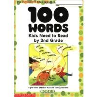 100个需知单词:2级 英文原版 100 Words Kids Need to Read by 2nd Grade Sc