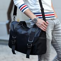 帆布包男包包韩版斜跨包单肩包旅行包 潮包 手提包男款休闲包大包
