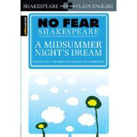 A Midsummer Night's Dream (No Fear Shakespeare) 别怕莎士比亚:仲夏夜之