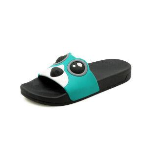 ELEISE美国艾蕾莎新品113-T2166儿童休闲超纤皮平跟儿童男女亲子女士凉拖鞋