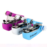 小型缝纫机 多功能迷你手动单针便携式手持缝纫机家用单头机