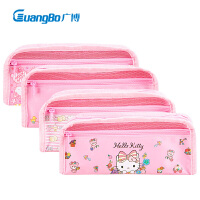 hello kitty笔袋韩版可爱卡通女童女孩幼儿园KT猫文具盒小学生大容量简约凯蒂猫迪士尼玩具总动员男童文具袋