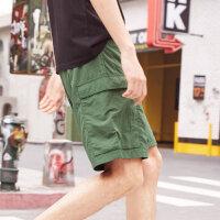 【1件2.5折到手价:19.8】美特斯邦威休闲裤男夏季快干中裤商场款
