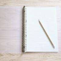 苏铁时光活页本学生简约记事本b5/a5笔记本文具子加厚网格手账本