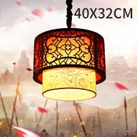 新中式过道小吊灯创意餐厅灯笼中国风复古客厅茶馆灯具灯饰仿古