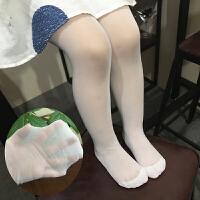 夏季薄款儿童打底袜子宝宝白色舞蹈袜连袜裤女童丝袜防勾丝连裤袜