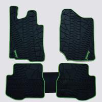 铃木吉姆尼脚垫jimny维特拉后备箱垫尾箱垫启悦专用乳胶垫地毯式
