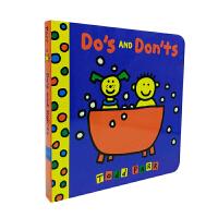 进口英文 Do's and Don'ts 纸板 [2-4岁]