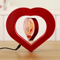 个性DIY相框磁悬浮摆件 创意实用新婚礼品物结婚庆典送女朋友闺蜜
