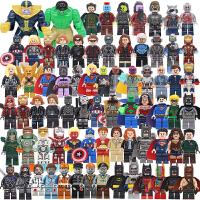 拼装乐高英雄复仇者联盟3钢铁侠机甲基地内战2人仔男孩子玩具