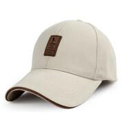 棒球帽男士帽子秋冬户外运动帽冬天长檐太阳帽鸭舌帽春秋 均码可调节