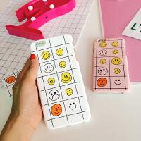 韩国卡通软妹保护套清新可爱笑脸iphone5s/6/6plus苹果手机壳硬壳