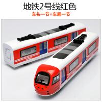 儿童玩具合金仿真模型火车玩具车 回力车地铁动车高铁和谐号 男孩