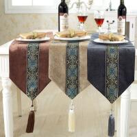 木儿家居 桌旗中欧式 灯芯绒民族风西餐桌布艺茶几布床尾旗如梦令