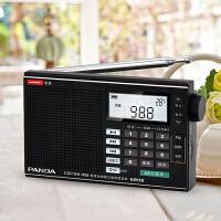 熊猫/PANDA 6208半导体小收音机全波段老人便携式可充电迷你插卡随身听mp3播放器