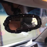 镶钻车内装饰套装汽车安全带护肩套档杆套手刹套排挡套后视镜套女