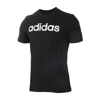 Adidas阿迪达斯男装 2017新款运动休闲透气短袖T恤 BR4066/BR4071