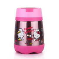 Hello Kitty 凯蒂猫儿童便当盒保温饭盒宝宝餐桶卡通饭盒KT-3626