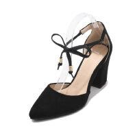 WARORWAR法国 2019新品YGM-177夏季欧美粗跟女鞋潮流时尚潮鞋百搭潮牌凉鞋女