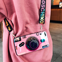 20190618225104137ins超火复古相机xsmax苹果X手机壳7p斜挎挂绳iPhone6s网红同款8plu
