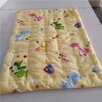 纯棉花新生婴儿小褥子小垫子婴儿床垫幼儿园床垫小抱被纯棉薄垫子