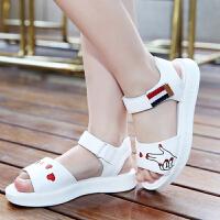 女童凉鞋新款韩版夏季小孩中大童公主鞋学生时尚软底儿童鞋子