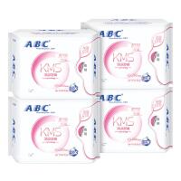 ABC蓝心KMS配方280mm纤薄夜用卫生巾4包 共32片