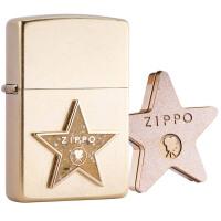 芝宝Zippo打火机 金花砂/贴章 C01 年度绝版机 好莱坞星光大道