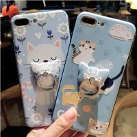 【包邮】iPhone8手机壳iPhoneXR手机壳8plus硅胶套苹果X软壳浮雕新款招财猫iphone7手机壳创意硅胶