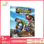 【顺丰速运】英文原版 棚车少年 The boxcar children 第9本 Mountain Top Myster
