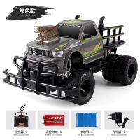 儿童遥控玩具汽车高速漂移大型越野车遥控充电大卡车 豪配【三块车身电池 强烈 】