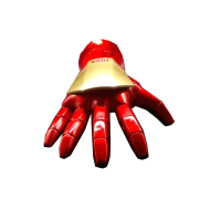钢铁侠手套 钢铁侠手臂可穿戴头盔甲金属机械电动衣服水弹玩具手套真人 标准配置