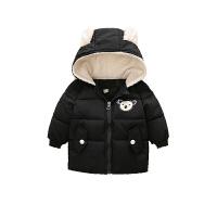 宝宝棉衣儿童羽绒三岁男童冬装女童棉袄冬季加绒加厚婴儿保暖外套