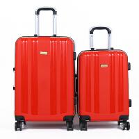 拉杆箱行李箱铝框旅行箱万向轮女男26学生密码箱包20寸24皮箱子