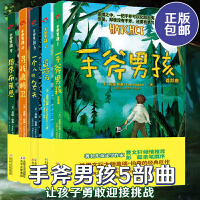 正版手斧男孩1-5全五册 手斧男孩 首部曲/冒险河/一个人的冬天/寻找鹿精灵/猎杀布莱恩 儿童文