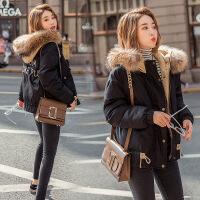羽绒女短款轻薄小个子棉袄2018新款韩版学生冬季加厚外套棉 X