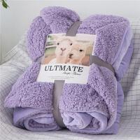 双层加厚珊瑚绒毯子冬季单人双人羊羔绒小毛毯法兰绒办公室午睡毯 200*230cm 【5斤 双层加厚】
